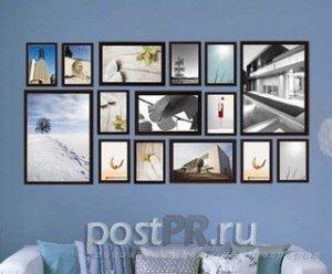 фотографии как повесить фотографии на стене