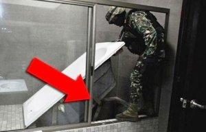 Что такого необычного обнаружили полицейские под ванной?