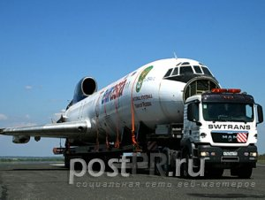 Современная спецтехника для негабаритных грузов