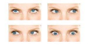 Упражнения для глаз - комплекс упражнений