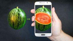 Как с помощью смартфона выбрать спелый арбуз