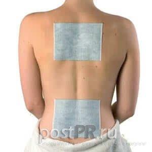 Перцовый пластырь от боли в спине